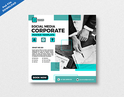 PSD SOCIAL MEDIA TEMPLATE DOWNLOAD