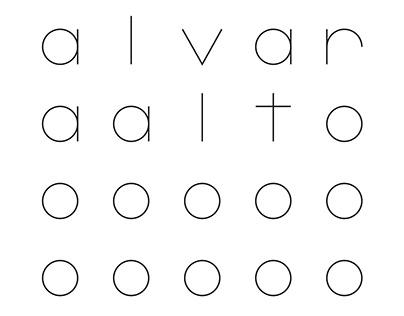 Branding for Alvar Aalto Library in Vyborg
