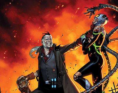 SPIDERGEDDON #2 COVER