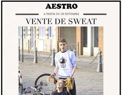 Affiche Sweat AESTRO