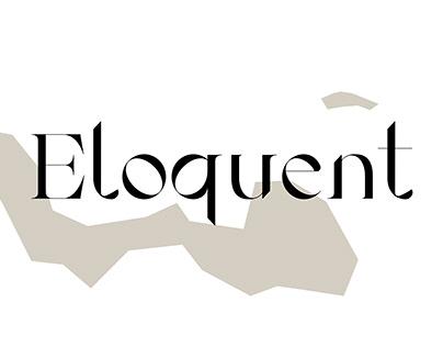 Eloquent Serif font