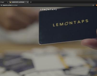Lemontaps Microsite