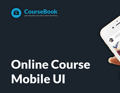 Online Course Mobile UI