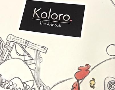 Prints Koloro - Artbook/Visit Cards/Steam Cards/ Flyers