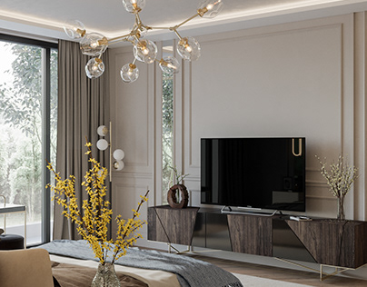 Luxury apartment in residential complex . S.Petersburg