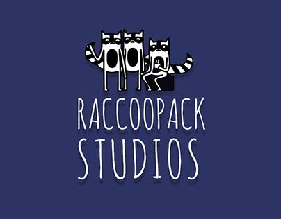 Raccoopack Studios: Website Design