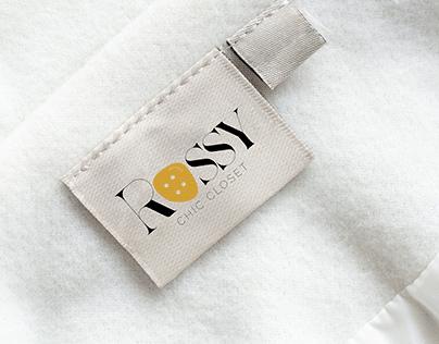 ROSSY Chic Closet | Logo & Branding