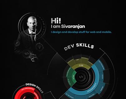 Profile Design of a UI & UX Designer