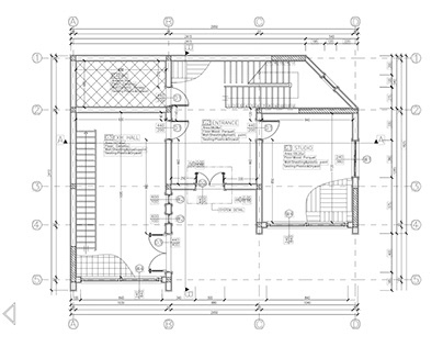Technical Drawing for Home Office Project