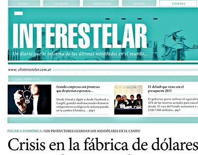Newspaper | Periódico Interestelar