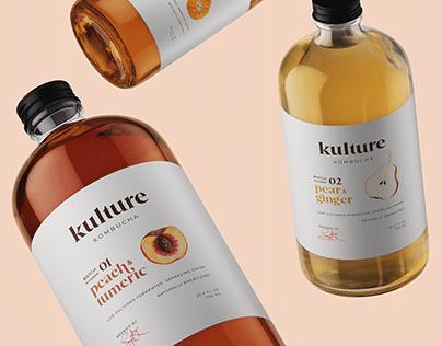 Packaging Design (Kulture Kombucha)