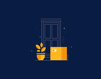 Email marketing Illustrations