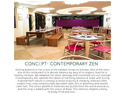 CONCEPT- CONTEMPORARY ZEN