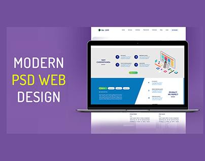 Modern PSD Web Template for Panda Inspection