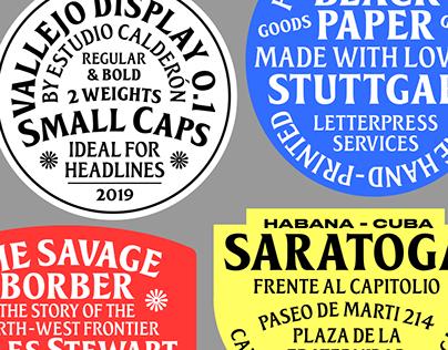 Vallejo Serif Display - Typefamily