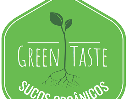 Logo idea for an organic juice brand (2013)