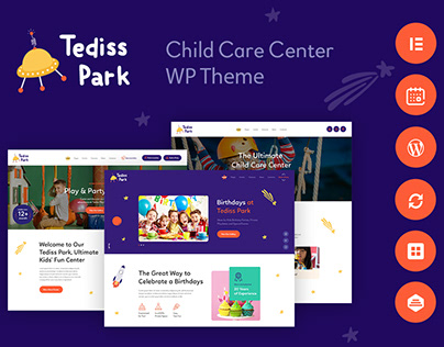 Play Area & Child Care Center WP Theme