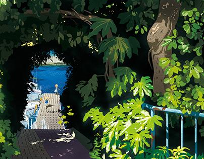 memories of gone summer [Secret Harbor]