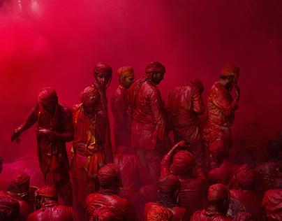Holi, 'The festival of Colours', Braj Bhoomi, U.P