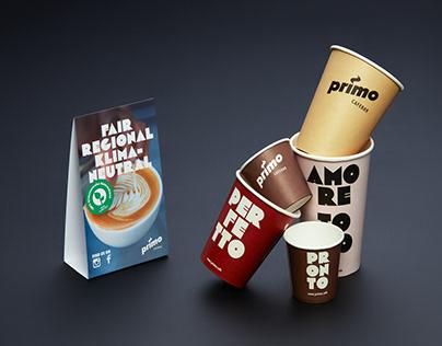 Neues Branding für die Primo Cafebar
