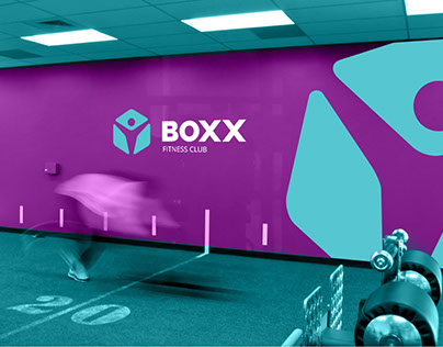 Boxx - corporate identity for fitness club