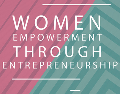 Brochure on Women Empowerment Through Entrepreneurship