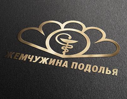 """""""Жемчужина Подолья"""" медицинский центр. Logo and identy"""