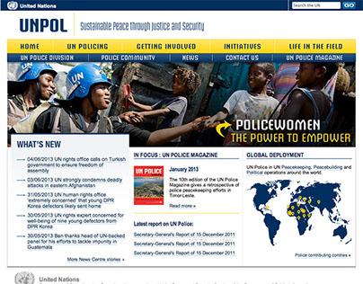 UNPOL, the United Natoins Police