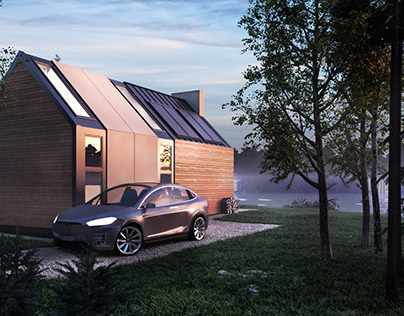 Modestdom 100 m2 | wooden house