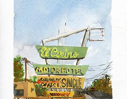 Roadside Albuquerque