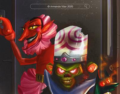 Powerpuff girls - The villains are coming