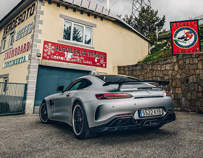 New Mercedes-AMG GT R Photoshooting