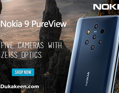 Nokia 9 PureView - 128GB 6GB RAM Midnight Blue