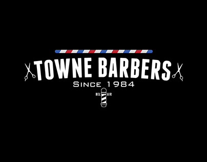 Towne Barbers Website & Logo