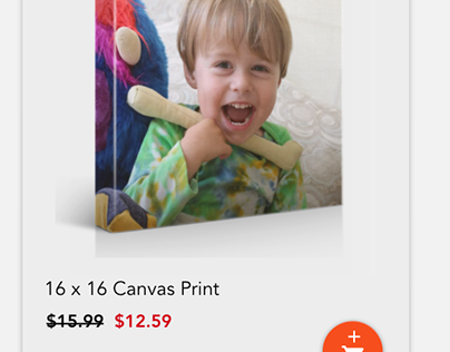 Shutterfly - Android App Product Flow