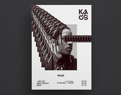 KAOS LAUNCH // Branding (concept non-commercial)