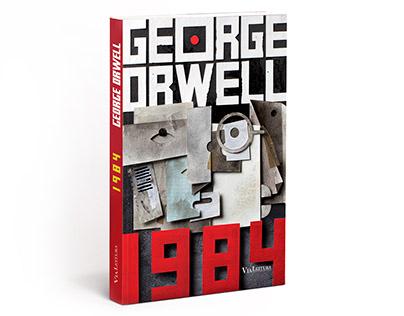 1984 - Goerge Orwell - Book Cover