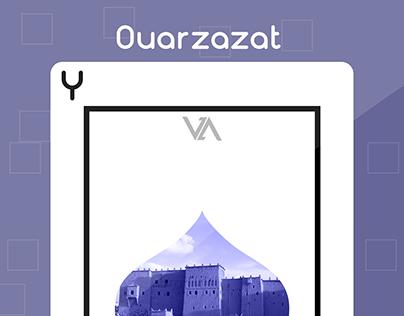 Ouarzazate Playcard