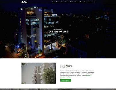 Bay - Minimal Real Estate Web Design