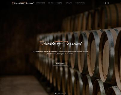 Domaine Desertaux-Ferrand | Website