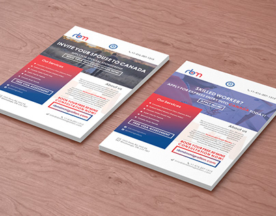 RBM Flyer Designs
