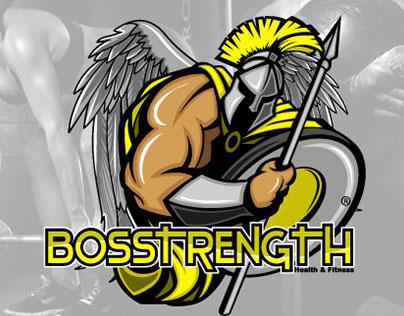Logo Design: BosStrength Health & Fitness
