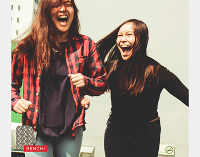 #AUTHENTICHAPPINESS Bench AD Campaign