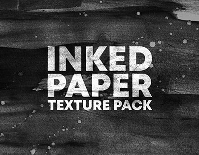 """INKED PAPER"" TEXTURE PACK VOL.1"