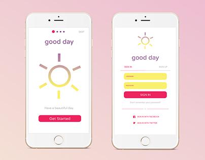 Good Day App