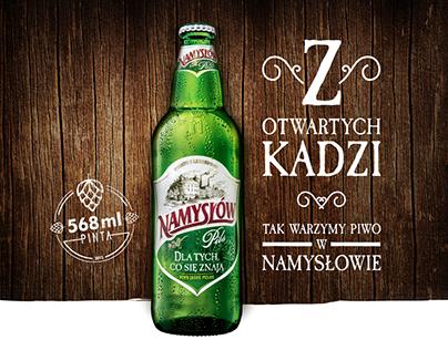Namysłów Pils Campaign