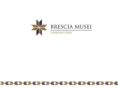 Brescia Musei visual identity