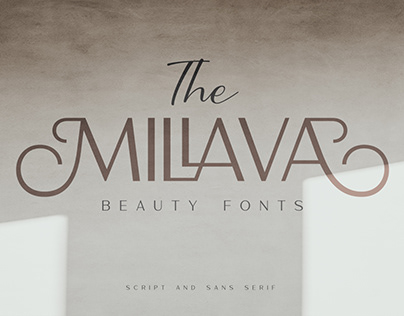 The Millava - Duo Beauty Fonts