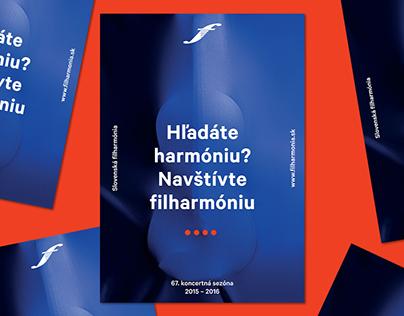Slovak Philharmony / Concert season (visual identity)