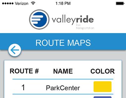 Boise Valley Ride App